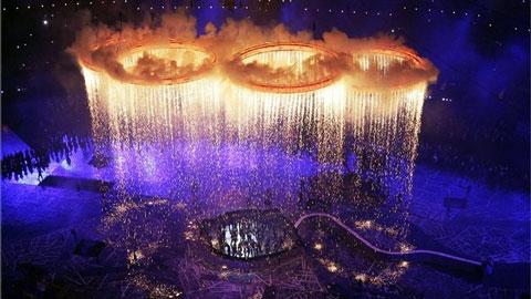 Церемония открытия XXX Олимпиады 2012 в Лондоне 27 августа 2012года