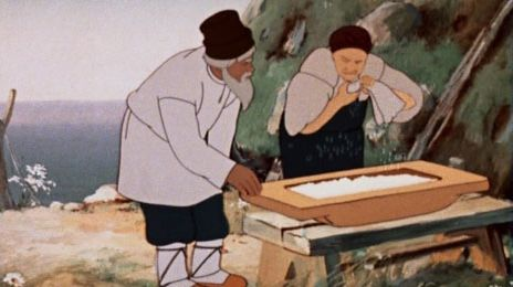 картинки к сказке рыбаке и рыбке